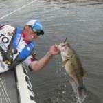 Catch big bass on big worms