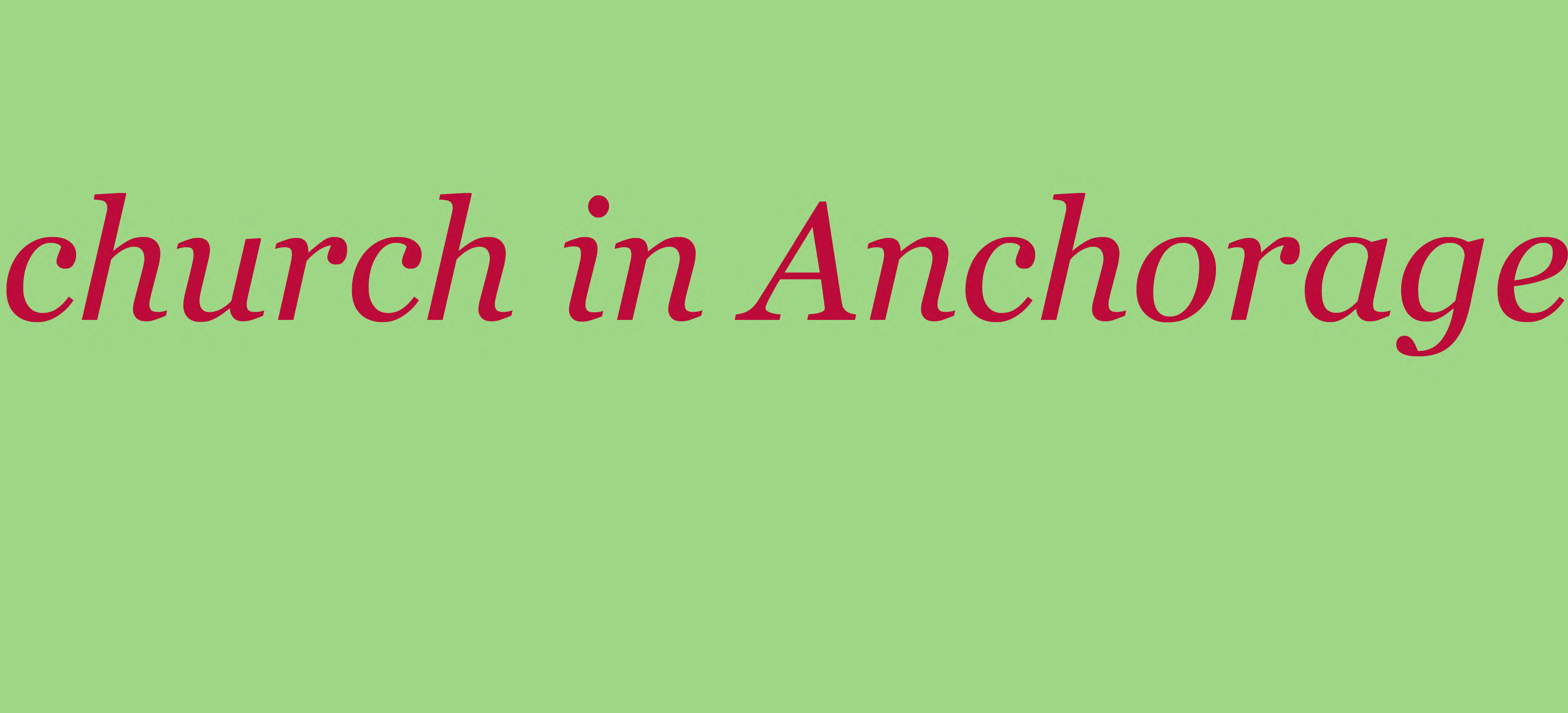 church in Anchorage
