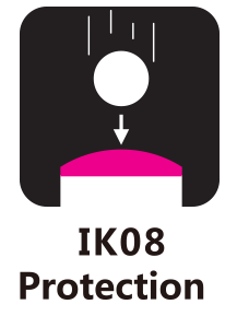 IK08 Rated