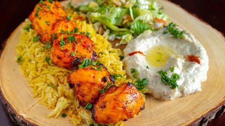 Chicken Sheesh Tawook (entree)