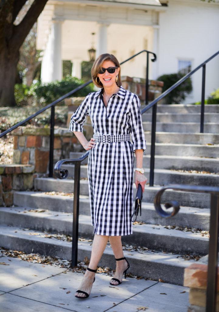 #dresses #ootd #over60fashion #ladieswholunch #whatiwore