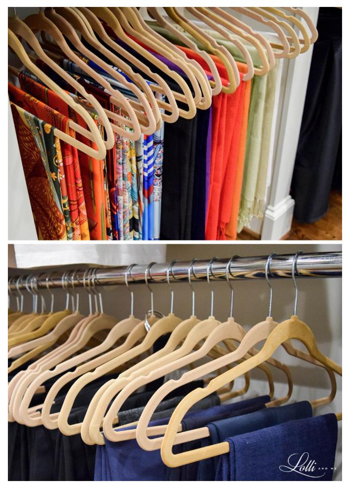 closet solutions,Joy  huggable hangers, the container store, fashionomics