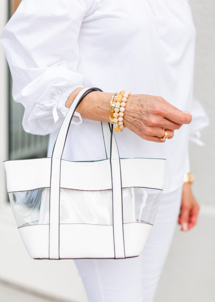 clear bags and cross body bags for game day