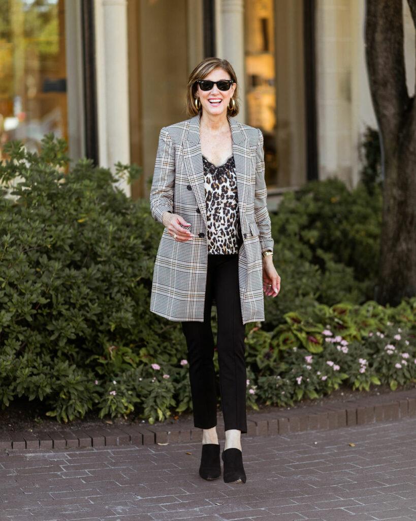 Fashionomics blog on plaid jackets