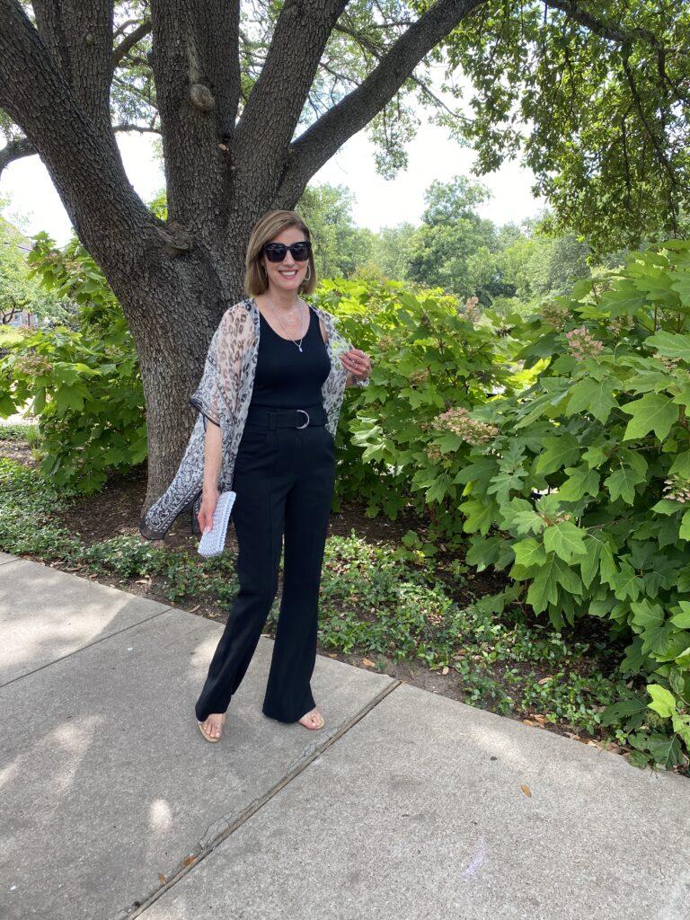 Dallas blogger in kimono for summer
