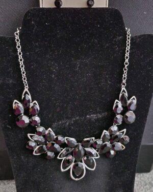 LaMia Black Necklace