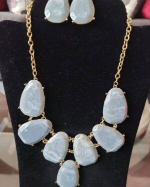 Grey/Silver Necklace