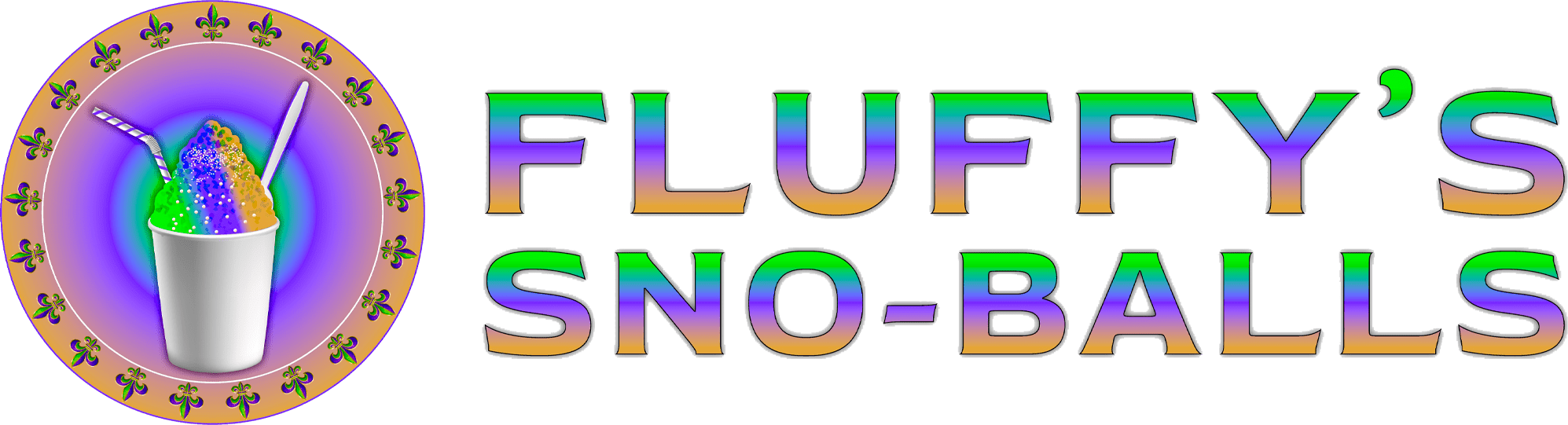 Fluffys Sno Balls Logo
