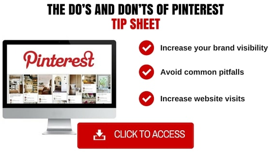 Pinterest tip sheet