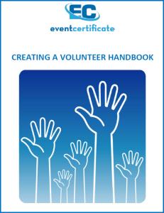 volunteers Handbook Writing Guide