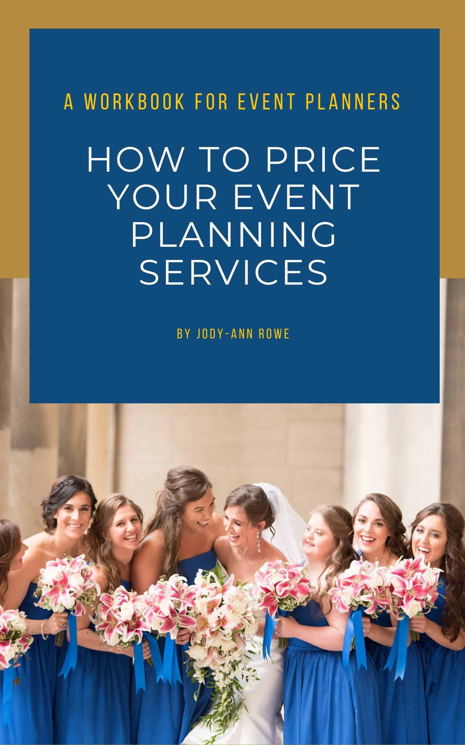 event planner pricing ebook