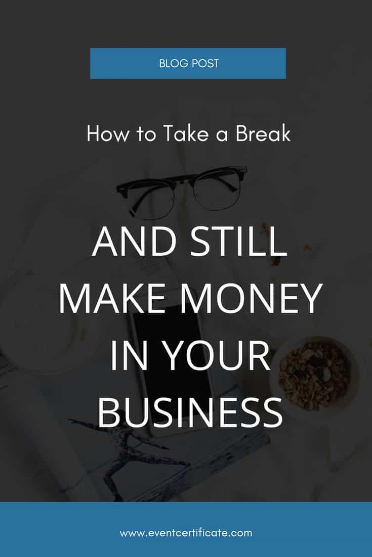 pinterest business break event planner