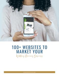 140 Event Planner Website Marketing Guide