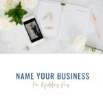 Business Name Ideas Worksheet
