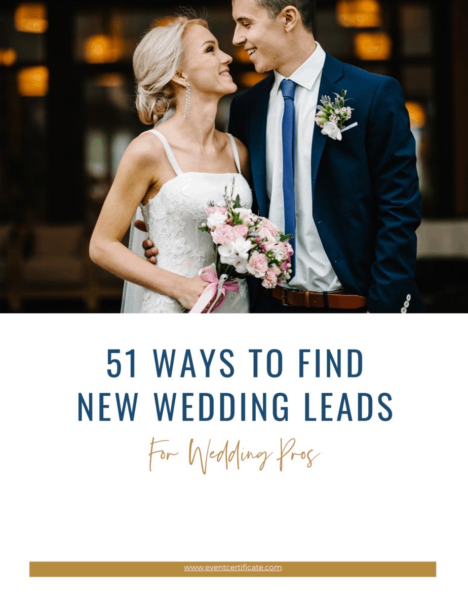 book new wedding leads