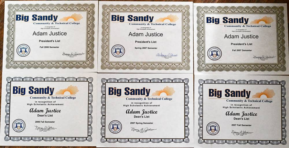 BSCTCS Deans List and Presidents List Certificates
