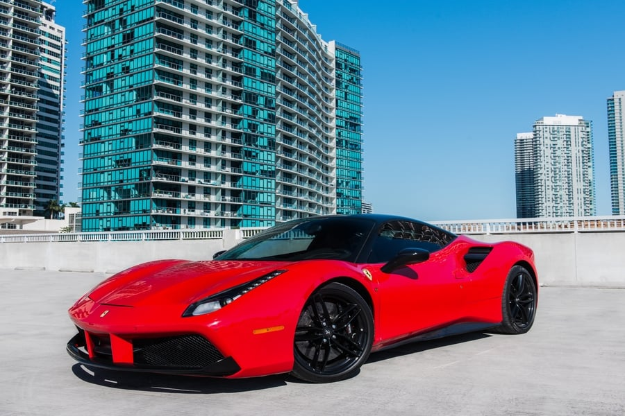 Ferrari 488 GTB Rental Miami