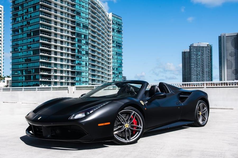 Ferrari 488 Spider Rental Miami