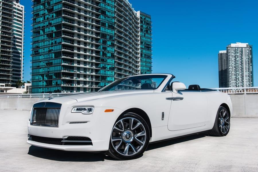 Rolls Royce Dawn Rental Miami