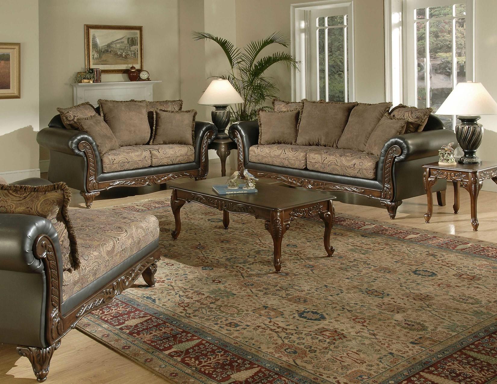 Union Furniture living room set leather