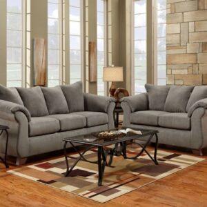 Union Furniture living room grey