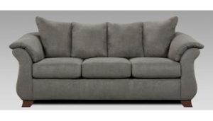 Union Furniture living room sofa grey