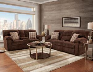 union-furniture-living room-1400-reclining-sofa-loveseat