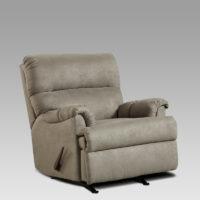 union-furniture-living room-2155-gray-microfiber-recliner