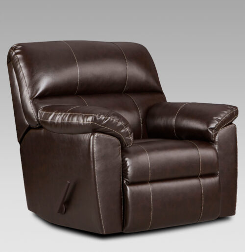 union-furniture-living room-2450-brown-leather-recliner