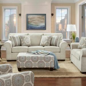 union-furniture-living room-tan-sofa-loveseat
