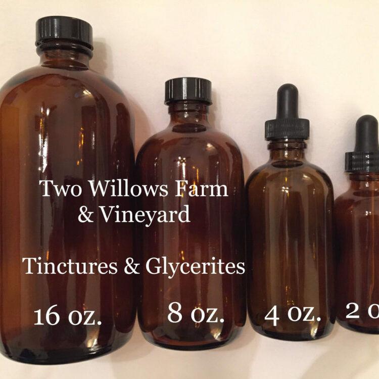 Organic Grape Seed Tincture, Organic Grape Skin Tincture, Organic White Pine Bark Tincture