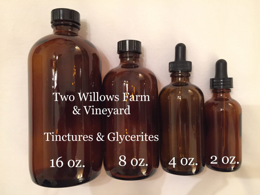 Tinctures and Glycerite Supplements