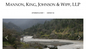Screenshot of the MKJW website