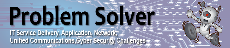 Problem Solver Blog