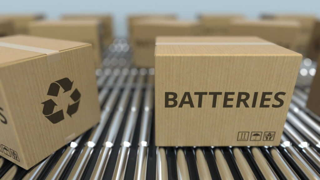 Boxes of batteries - We are seeing some disruptions of our battery supply chain.