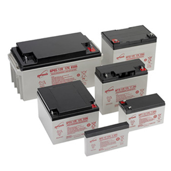 Collection of EnerSys SLA batteries