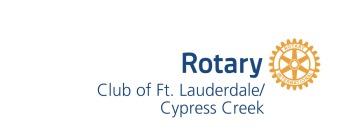 Rotary Club of Ft. Lauderdale/Cypress Creek