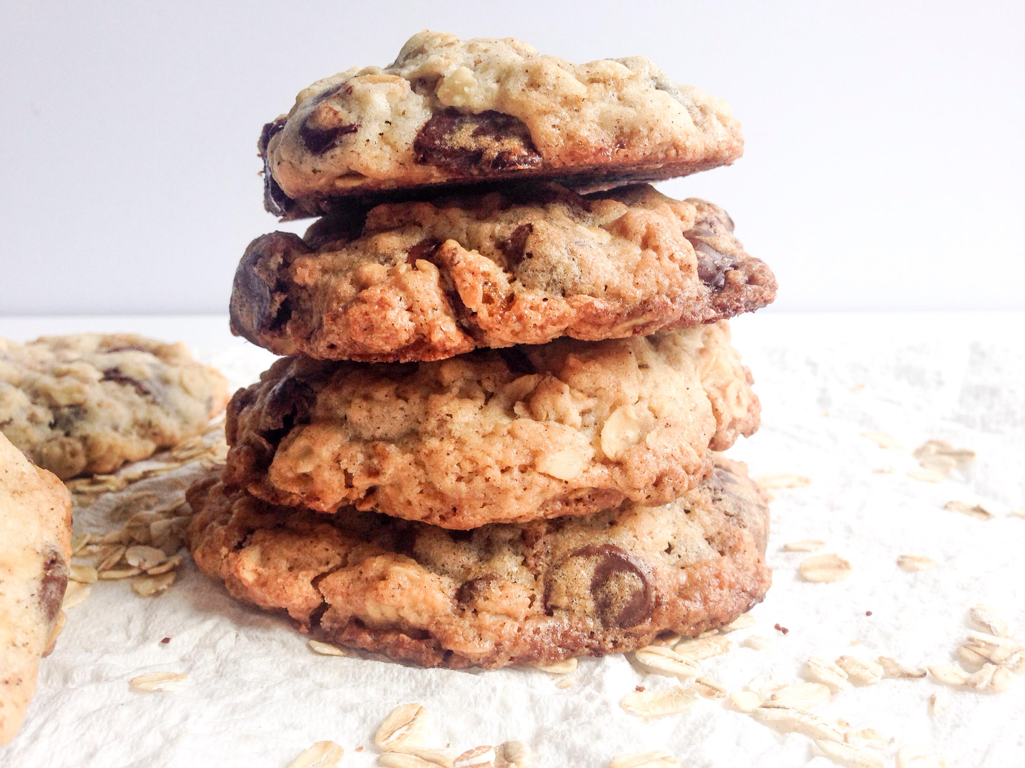 Chocolate Chunk Oats and Raisins Cookie