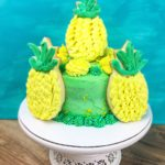 easy caramel pineapple cake