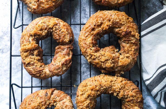 brown sugar raisin bagels