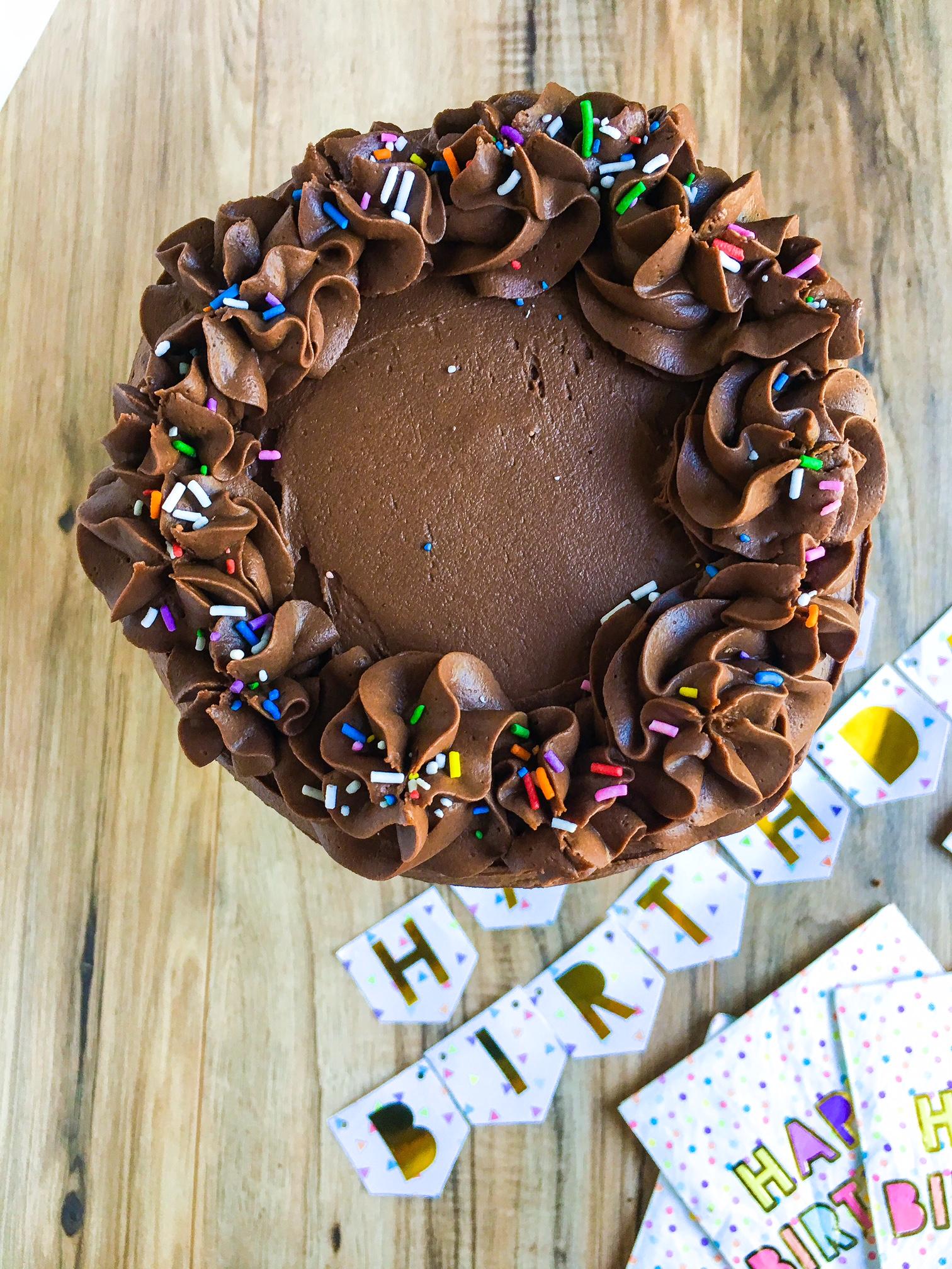 Coffee Fudge Cake