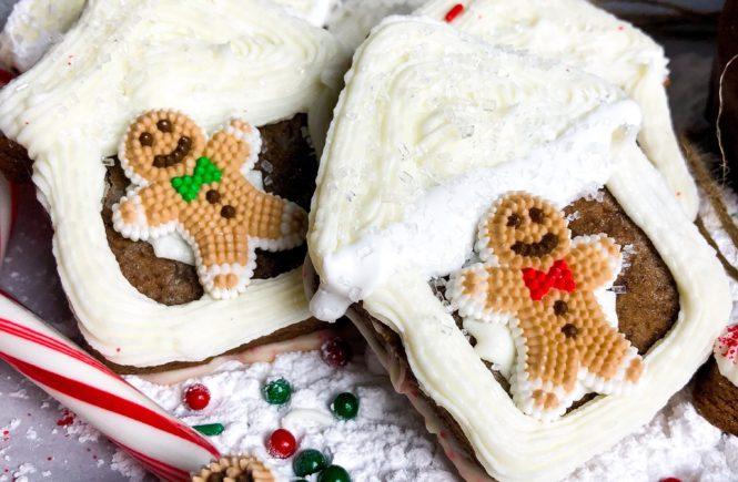 soft chocolate gingerbread