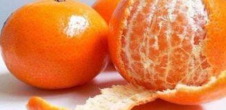 Propiedades de La Cáscara de Mandarina