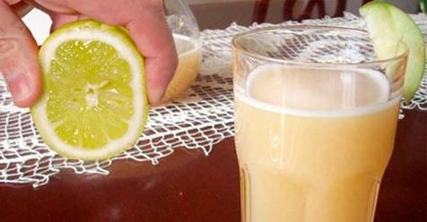 Manzana limón y avena para perder peso en 7 días