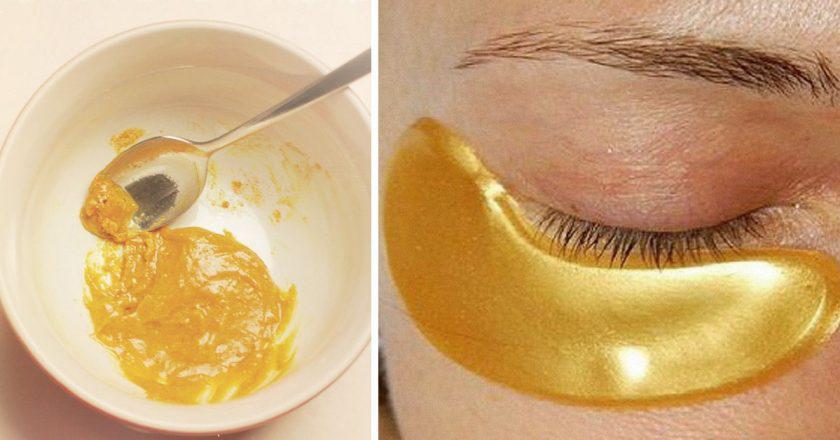 Mascarilla de oro para eliminar manchas