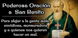 Oración a San Benito para alejar las malas energías