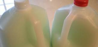 Como preparar jabón y detergente en casa