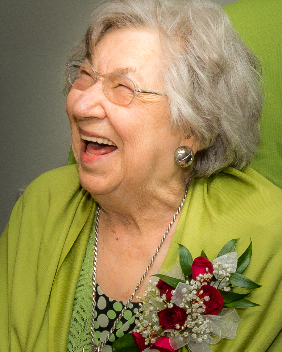 Jean on her 90th Birthday
