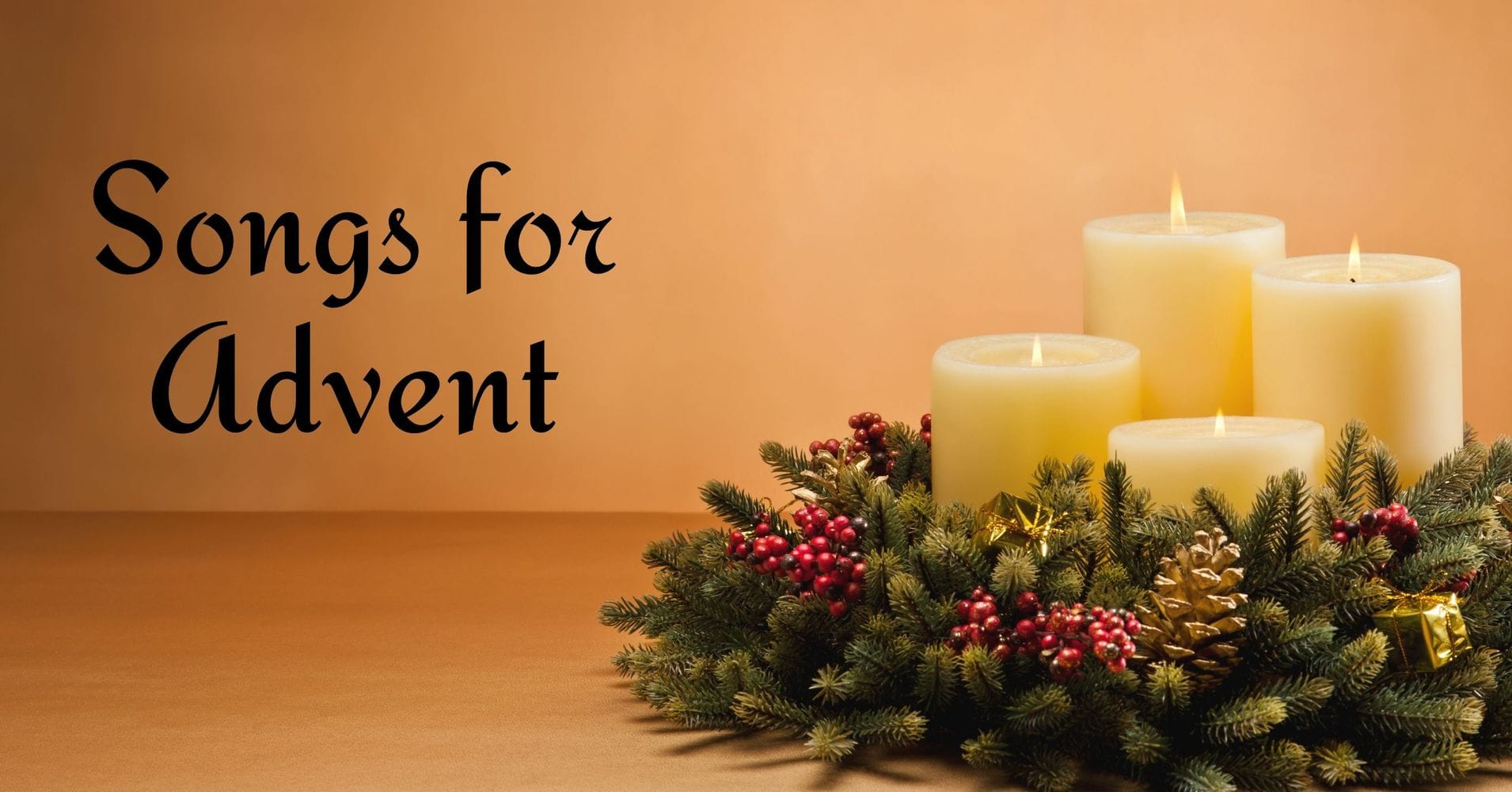"""Featured image for """"Songs for Advent"""""""