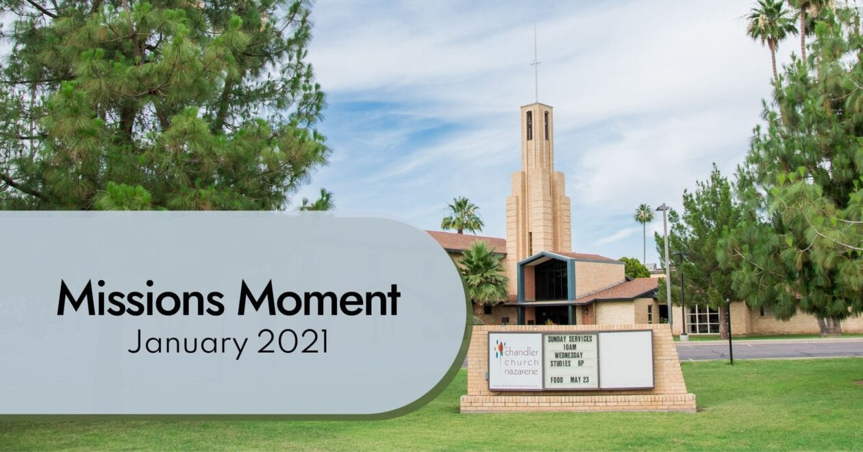 Blog: Missions Moment January 2021
